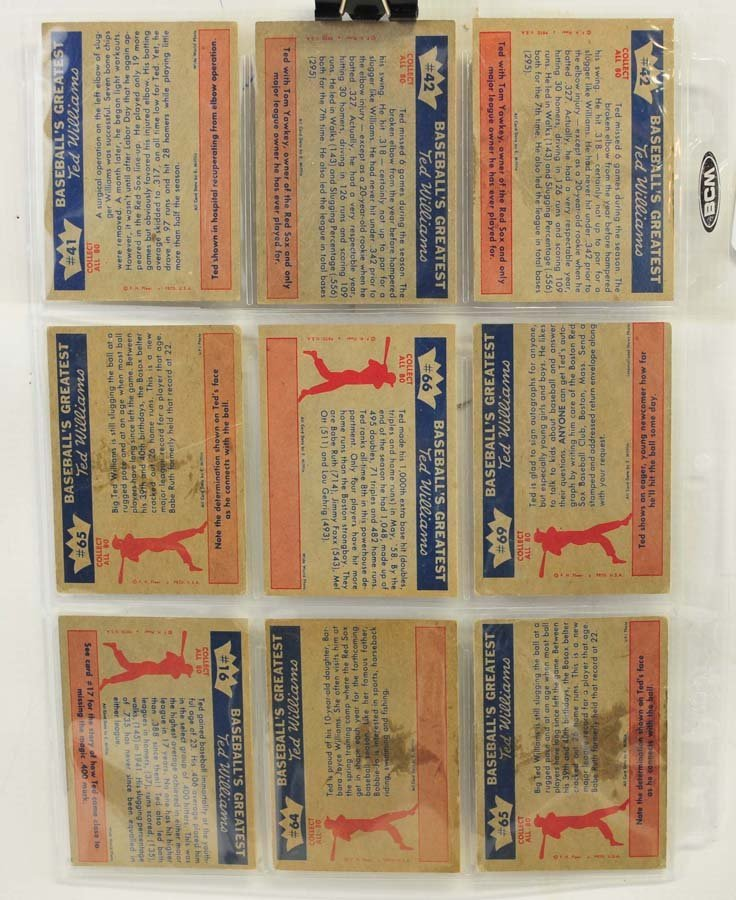 73 1959 Fleer Ted Williams Cards - 7