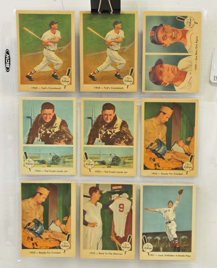 73 1959 Fleer Ted Williams Cards - 8