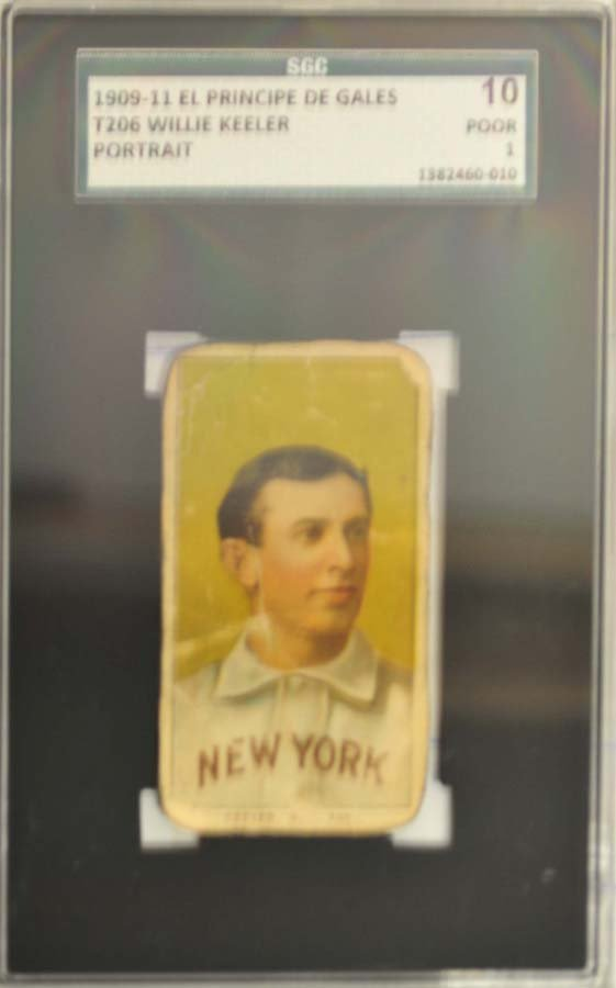 1909-11 T206 Willie Keeler