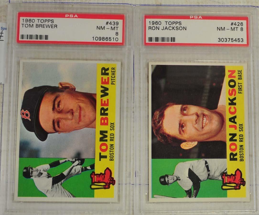 14 1960 Topps PSA 8 Baseball Cards - 9