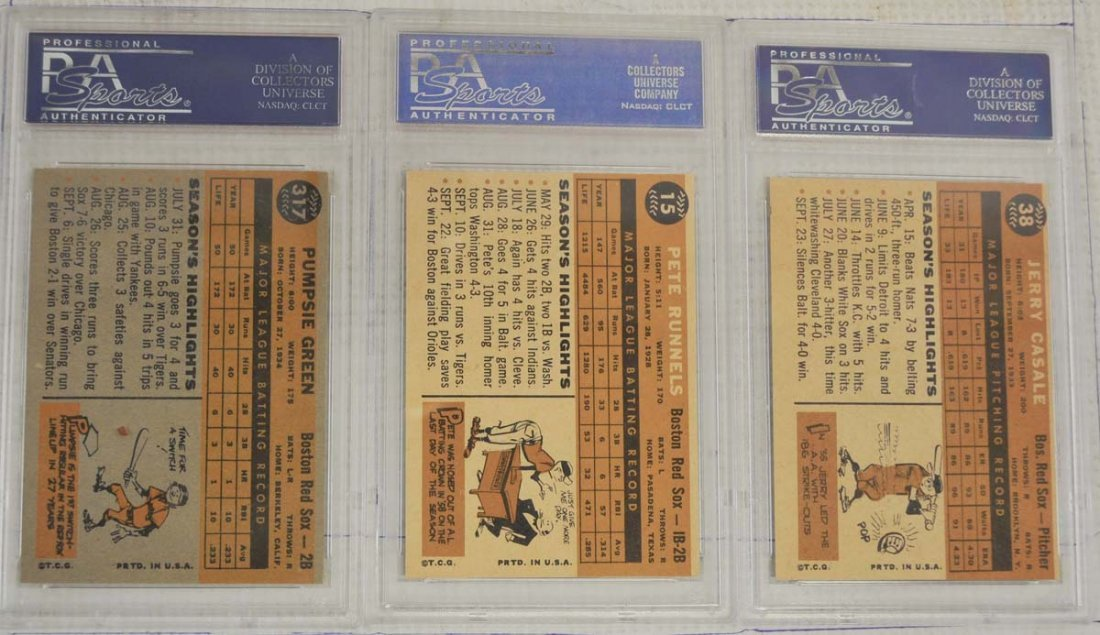14 1960 Topps PSA 8 Baseball Cards - 2