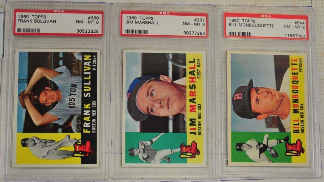 14 1960 Topps PSA 8 Baseball Cards - 3