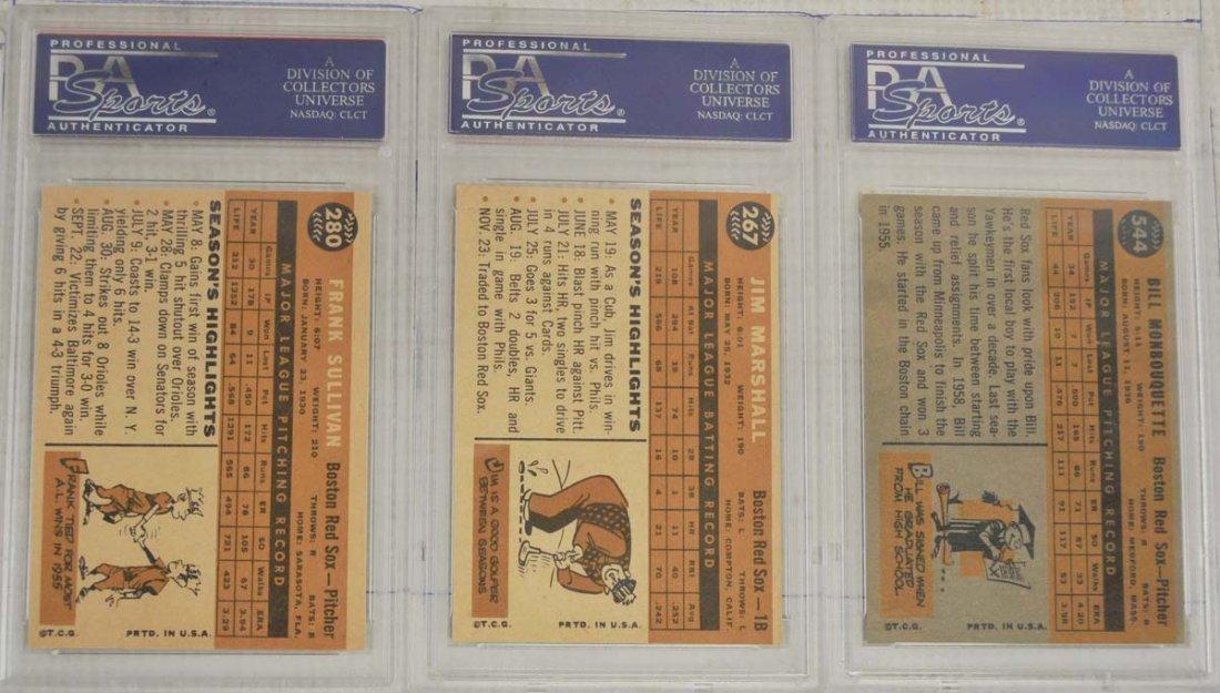 14 1960 Topps PSA 8 Baseball Cards - 4