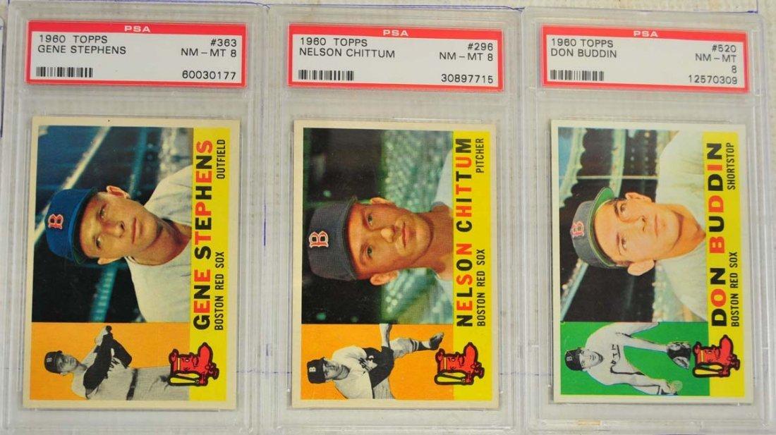 14 1960 Topps PSA 8 Baseball Cards - 5