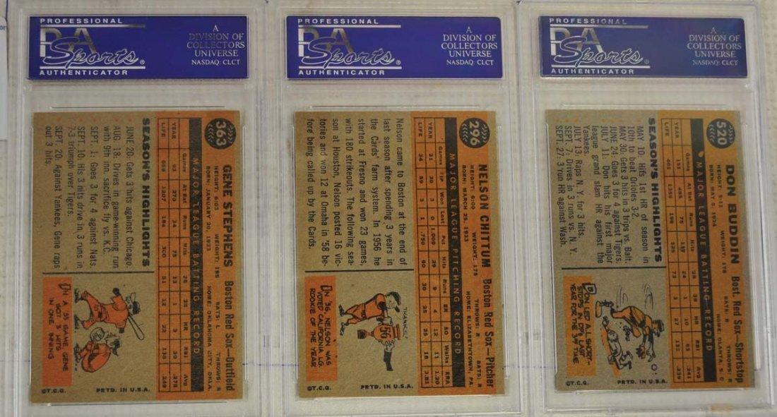 14 1960 Topps PSA 8 Baseball Cards - 6