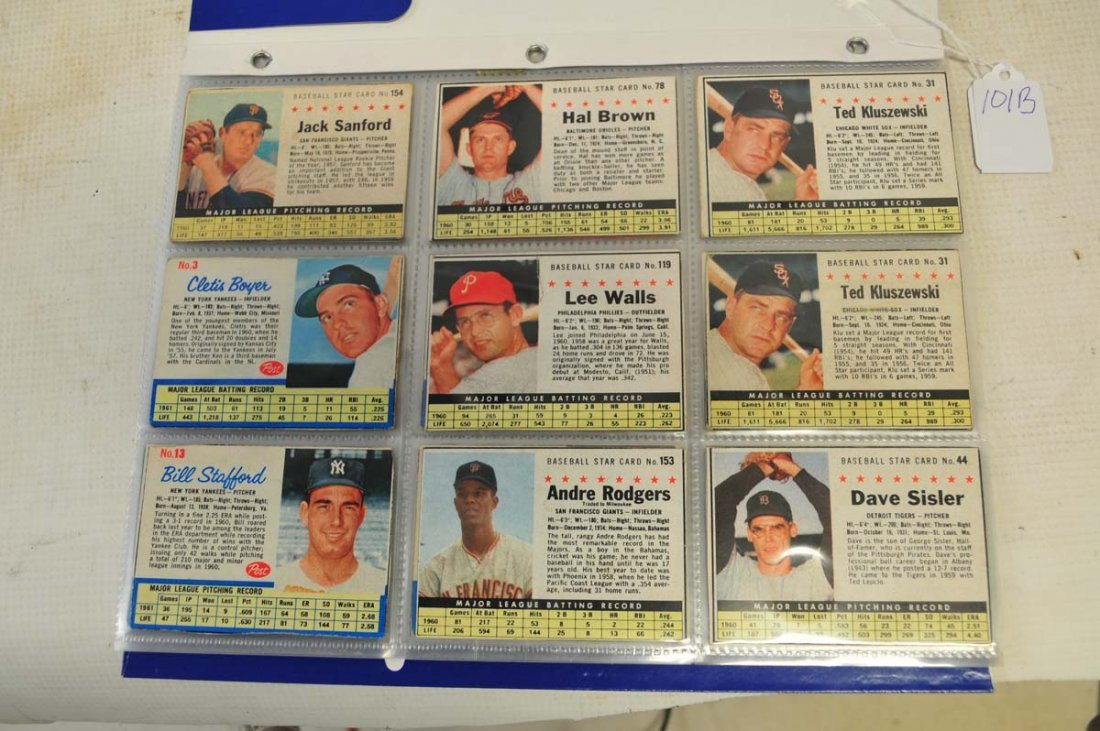 51 1961-1963 Post Cereal Baseball