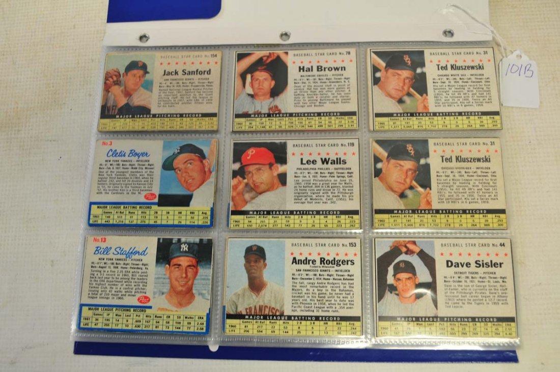 51 1961-1963 Post Cereal Baseball - 2