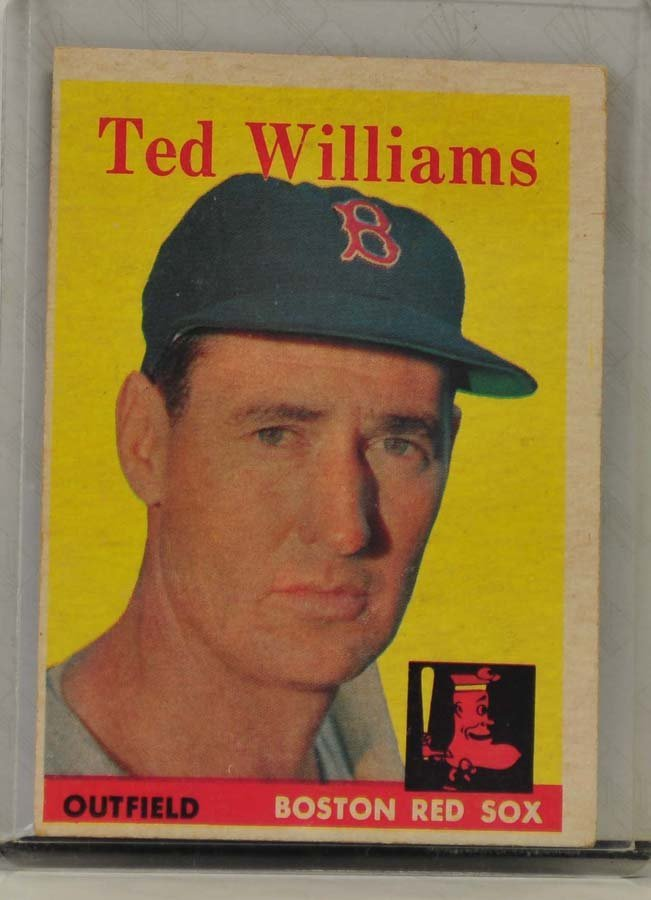 1958 Topps Ted Williams Ungraded