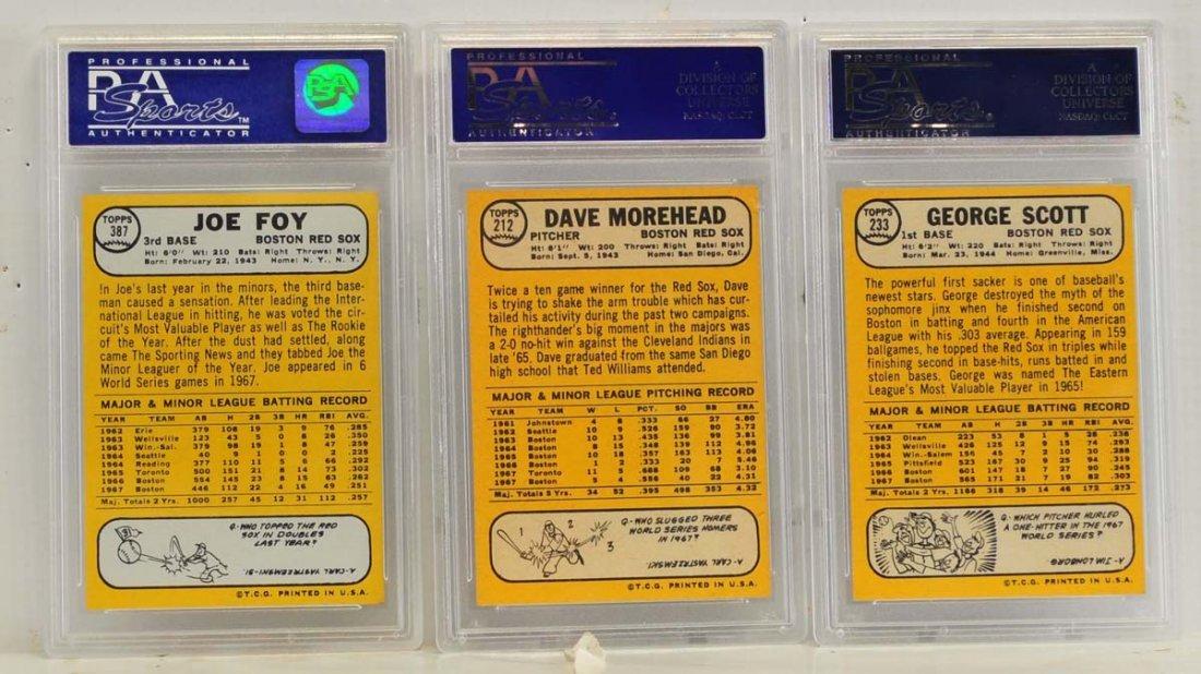 10 1968 Topps PSA 8 Graded Cards - 2