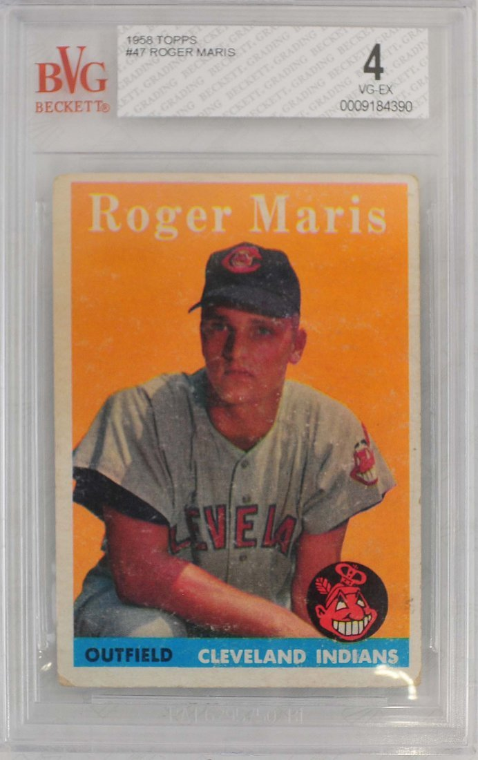 1958 Topps Roger Maris Rookie Card