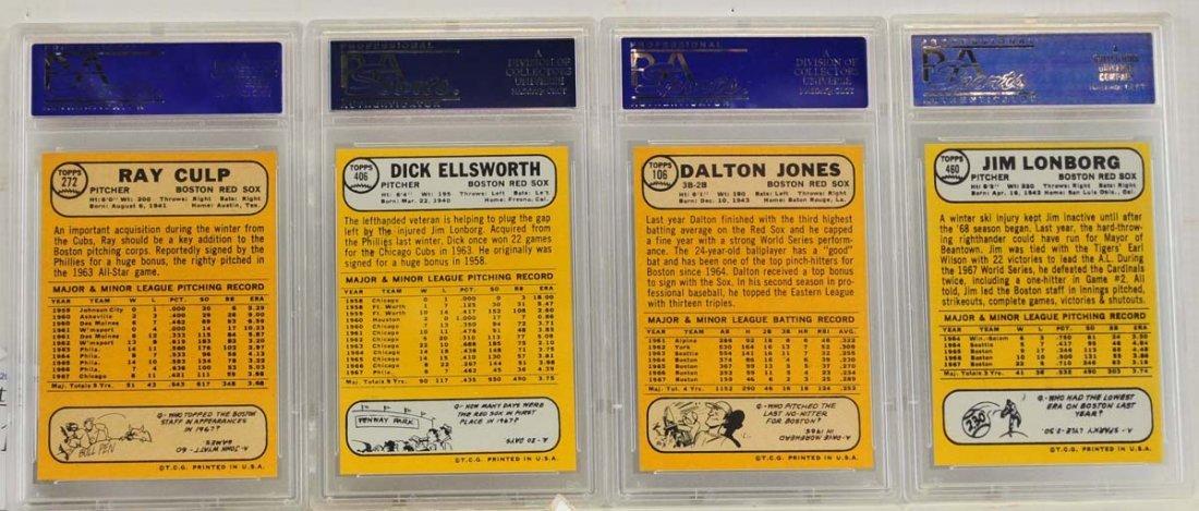 9 1968 Topps PSA 9 Graded Cards - 2