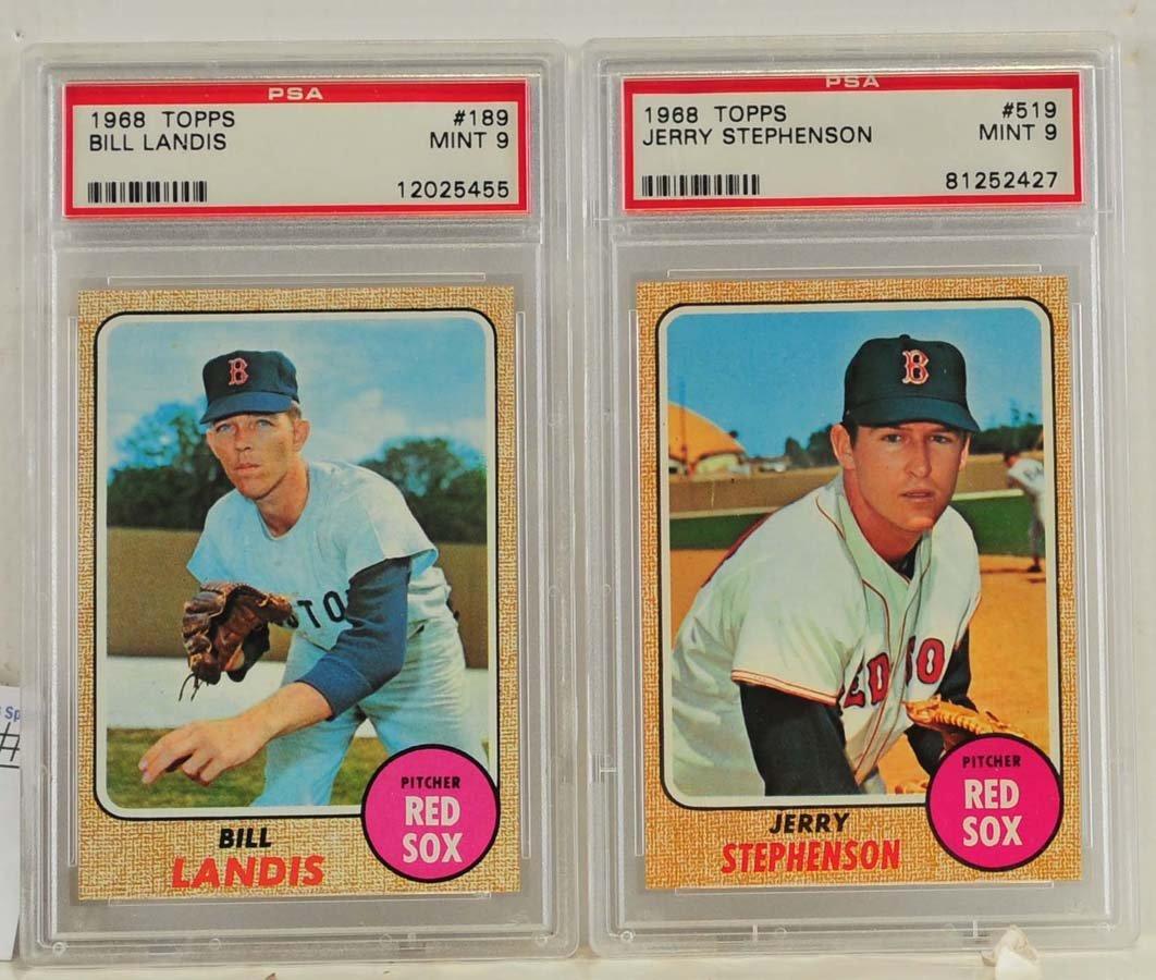 9 1968 Topps PSA 9 Graded Cards - 3