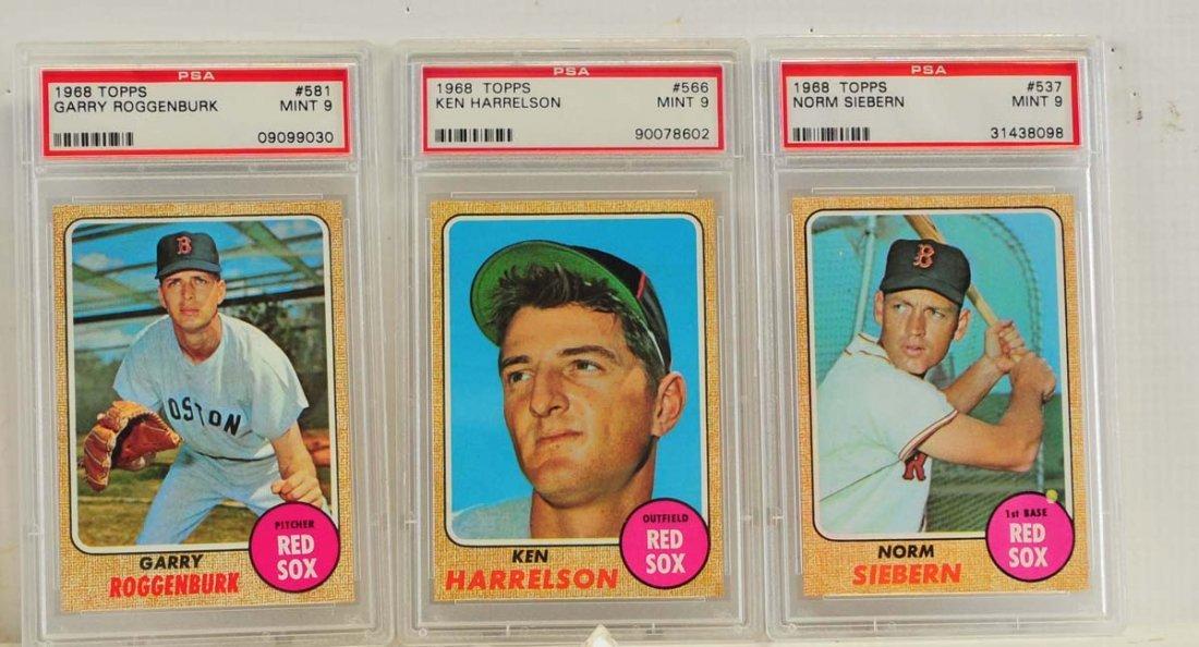 9 1968 Topps PSA 9 Graded Cards - 5