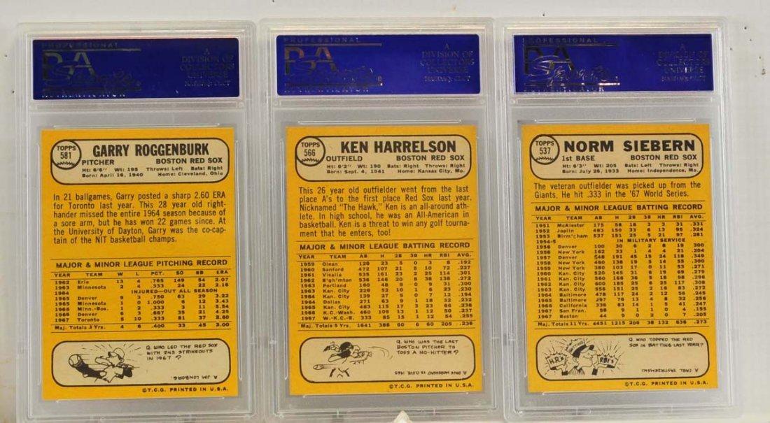 9 1968 Topps PSA 9 Graded Cards - 6
