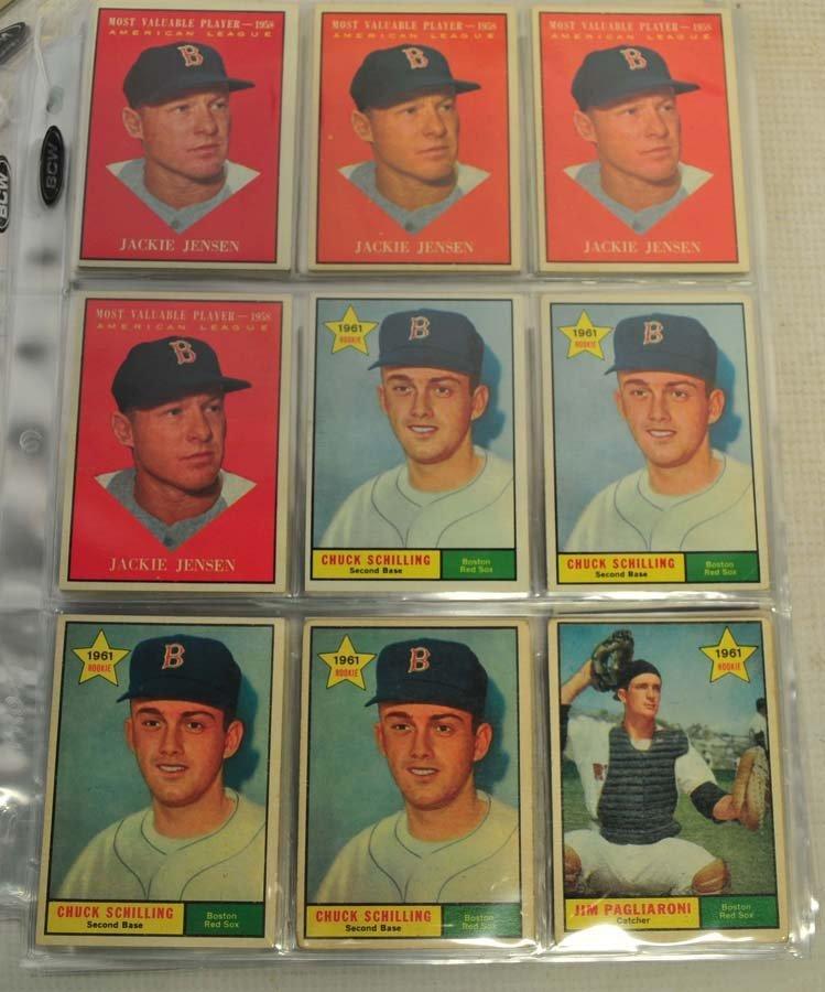 83 1961 Topps Baseball Cards Ungraded - 3