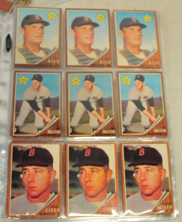 91 1962 Topps Ungraded Cards - 5