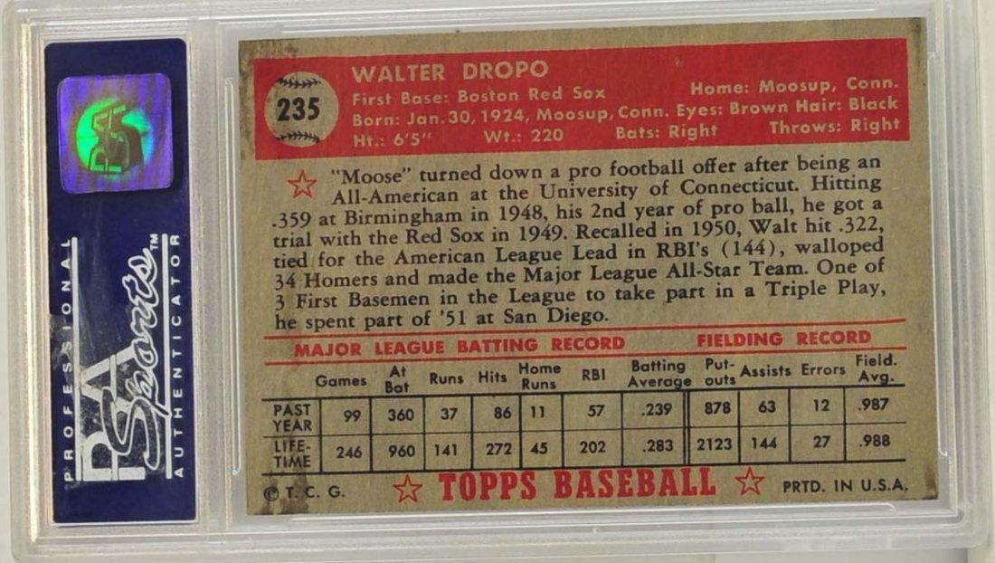1952 Topps Walt Dropo - 2