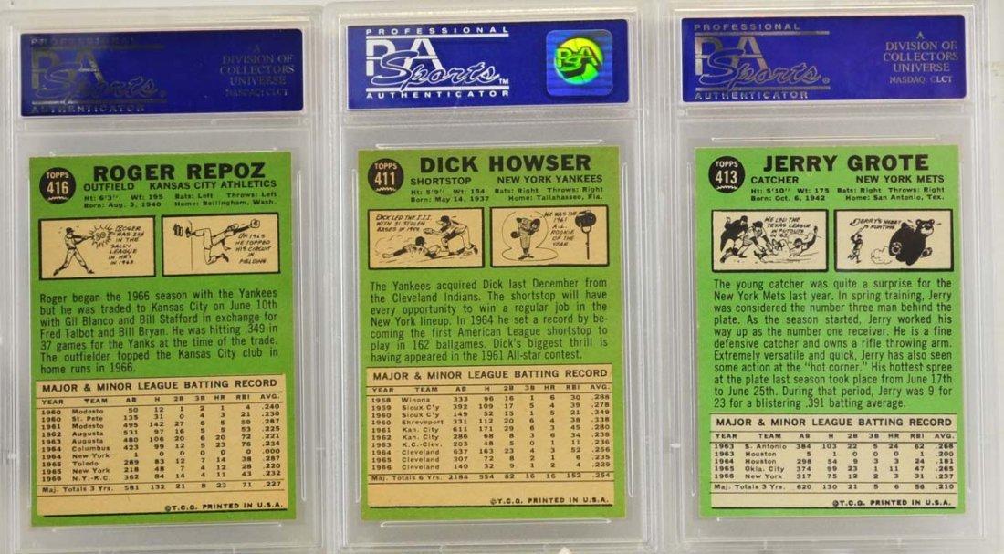 10 1967 Topps Graded Cards PSA 8 - 6