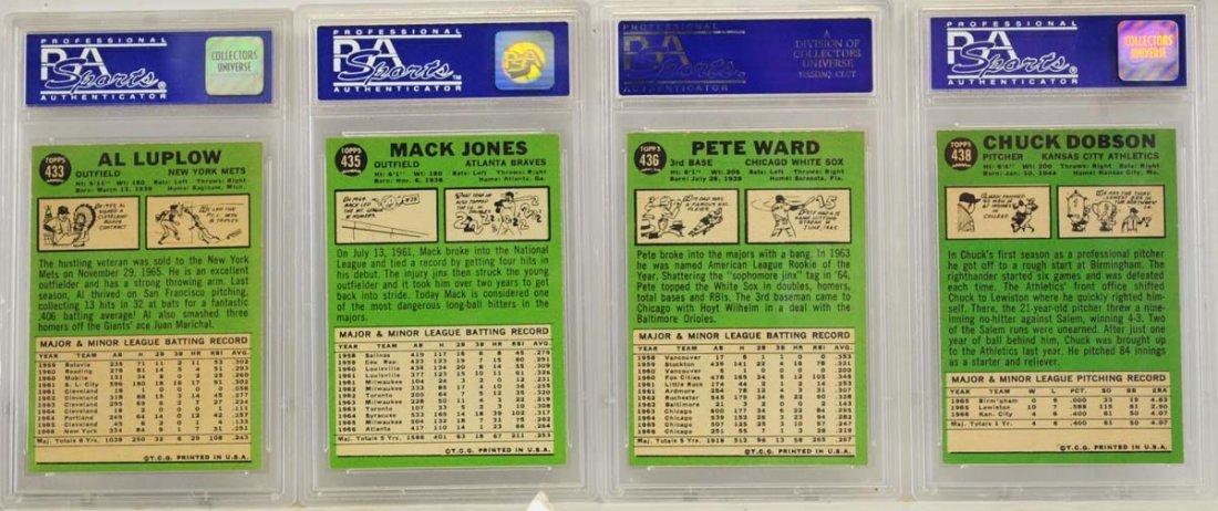 10 1967 Topps Graded Cards PSA 8 - 2