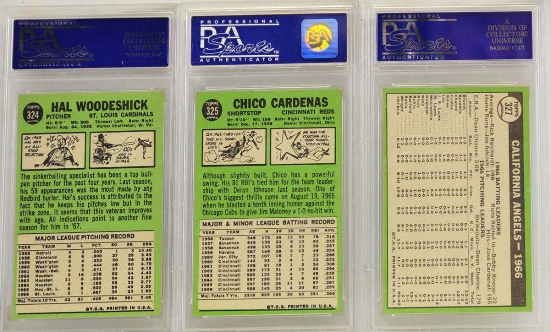 10 1967 Topps Graded Cards PSA 8 - 4