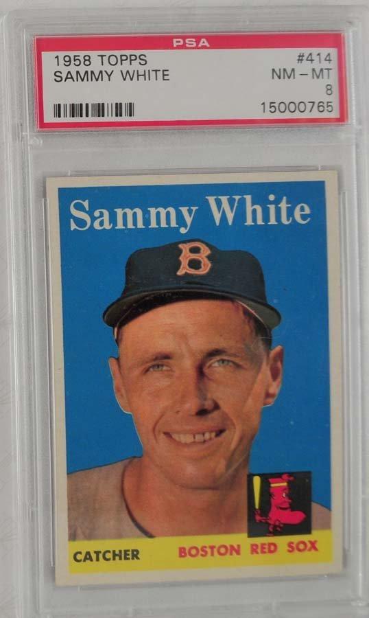 10 1959 Topps Baseball PSA Graded 8 - 7