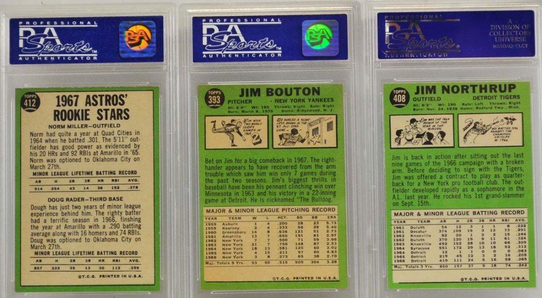 7 1967 Topps Graded Cards PSA 8 - 4