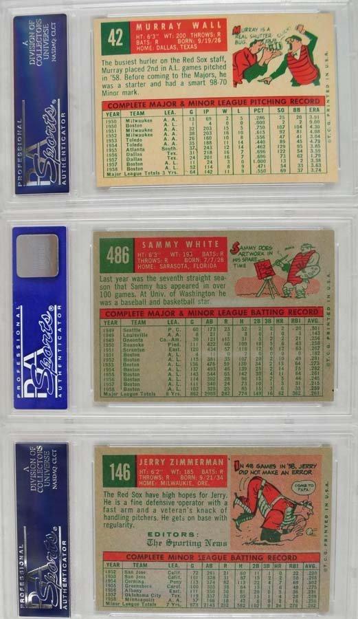 13 1959 Topps Baseball Cards PSA 8 - 4