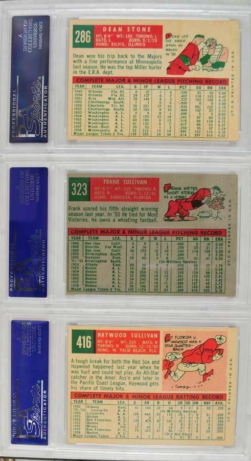 13 1959 Topps Baseball Cards PSA 8 - 6