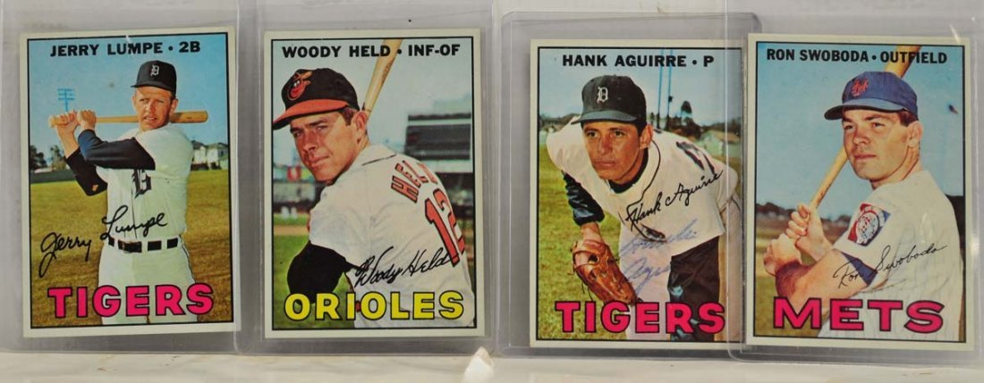 15 1967 Topps  Mint Ungraded Cards