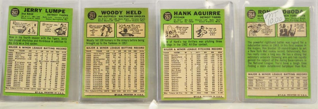 15 1967 Topps  Mint Ungraded Cards - 2
