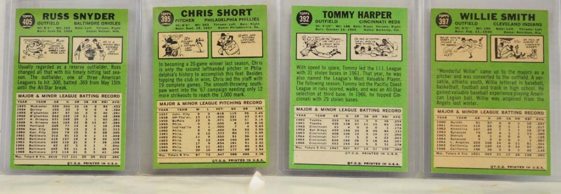 15 1967 Topps  Mint Ungraded Cards - 6
