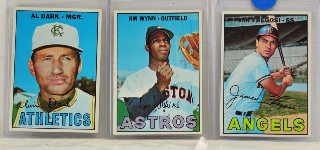 15 1967 Topps  Mint Ungraded Cards - 7