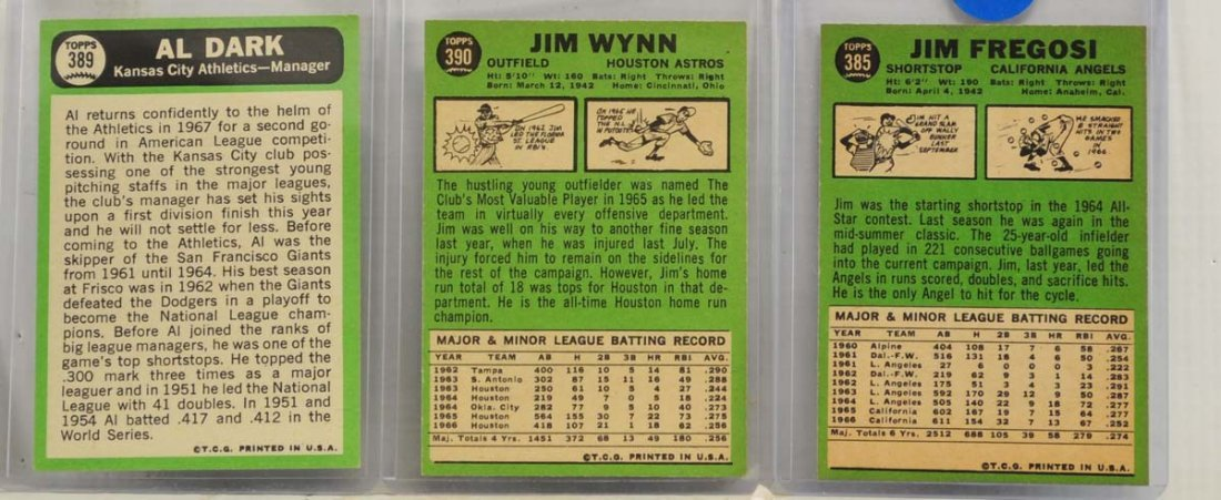 15 1967 Topps  Mint Ungraded Cards - 8