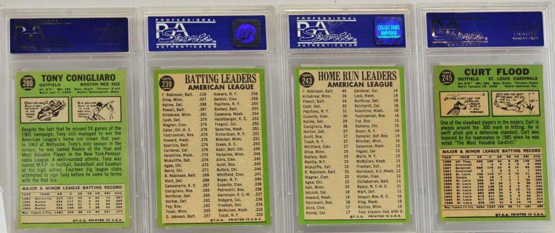 4 1967 Topps PSA 8 Graded Cards - 2