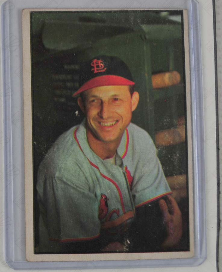 1953 Bowman Color Stan Musial