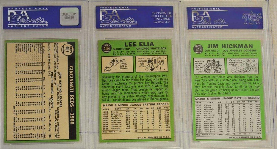 13 1967 Topps PSA Graded 8 Cards - 2