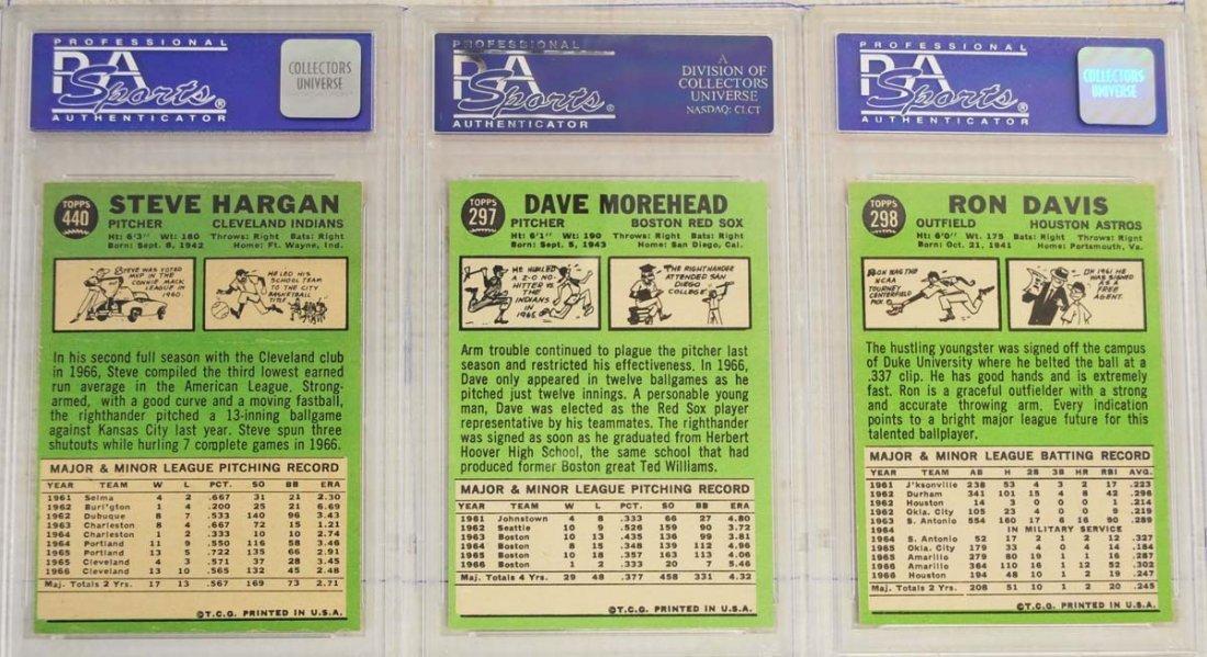 13 1967 Topps PSA Graded 8 Cards - 4