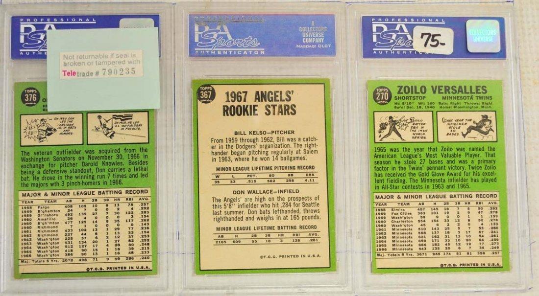 13 1967 Topps PSA Graded 8 Cards - 6