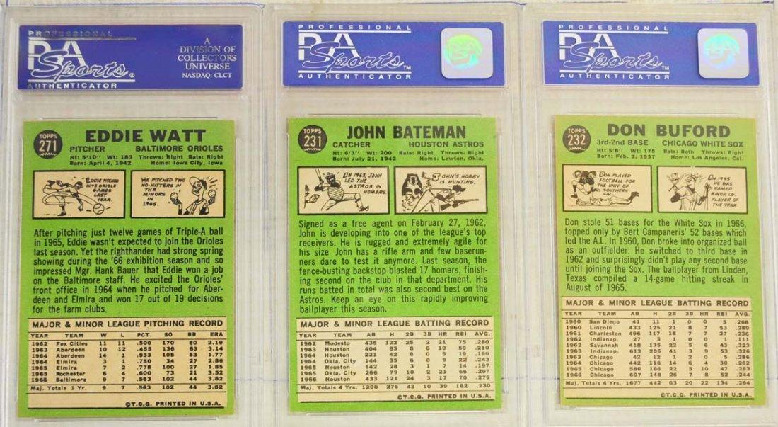 13 1967 Topps PSA Graded 8 Cards - 8