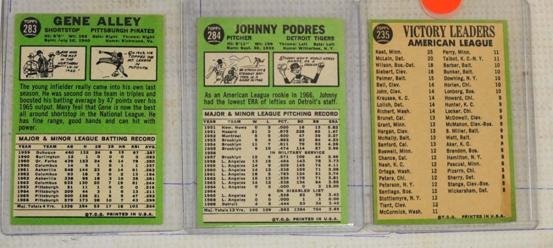 28 1967 Topps Ungraded Mint Cards - 10