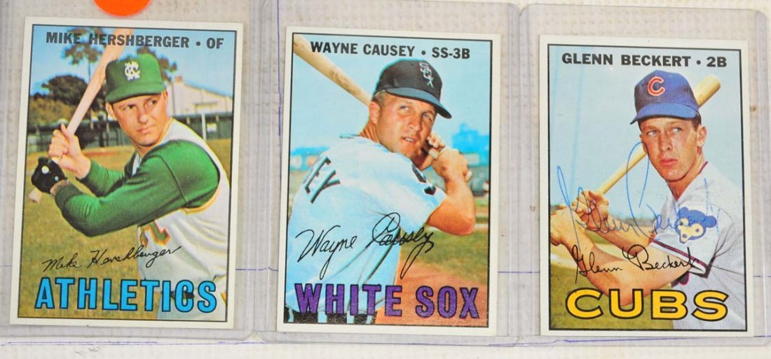 28 1967 Topps Ungraded Mint Cards