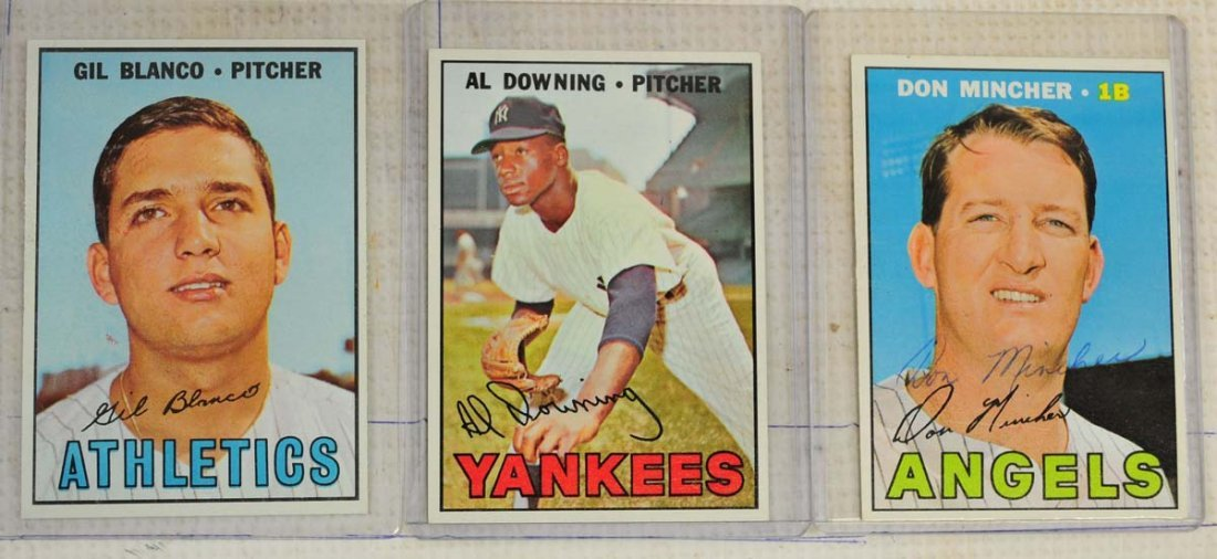 28 1967 Topps Ungraded Mint Cards - 3