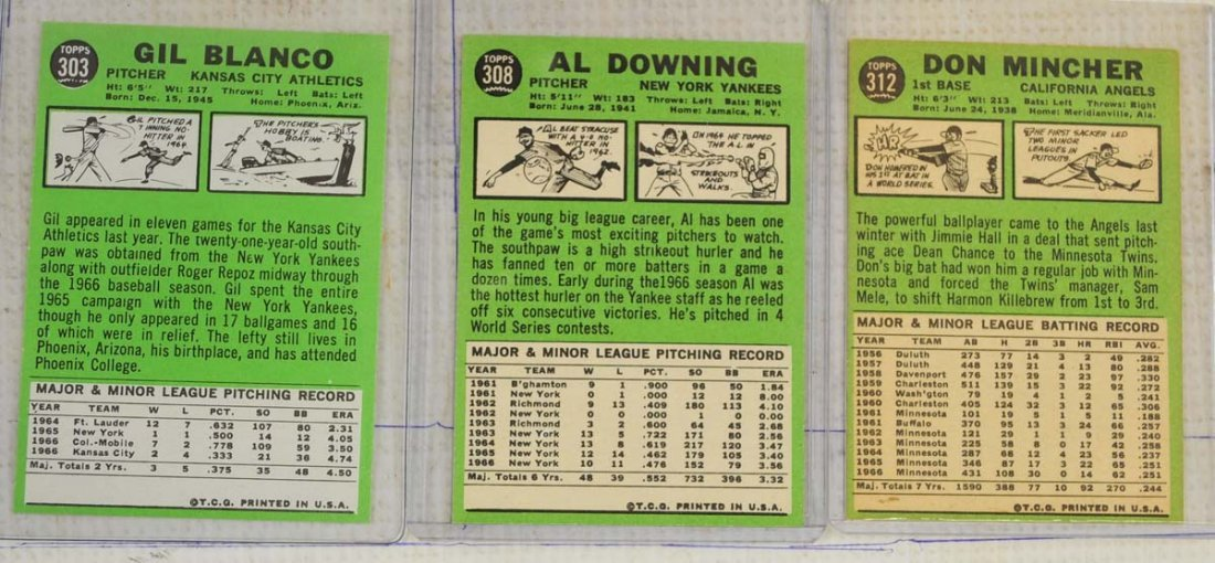 28 1967 Topps Ungraded Mint Cards - 4