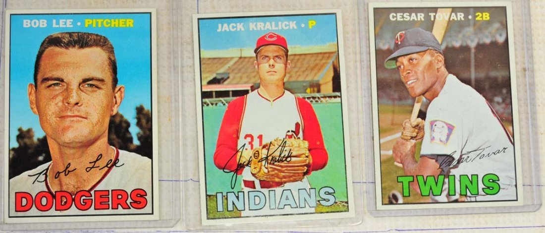 28 1967 Topps Ungraded Mint Cards - 5