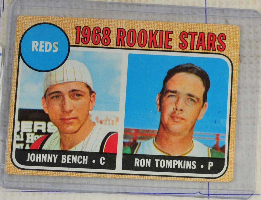 1968 Topps Johnny Bench Rookie