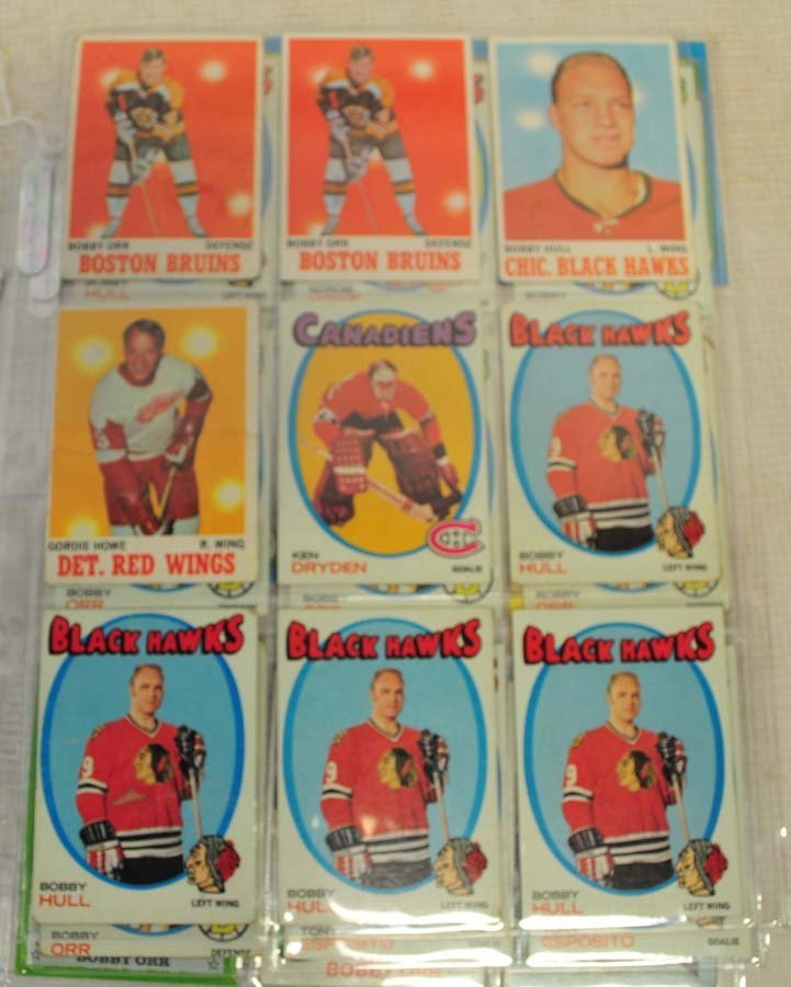 31 1970's Topps Hockey HOF Cards