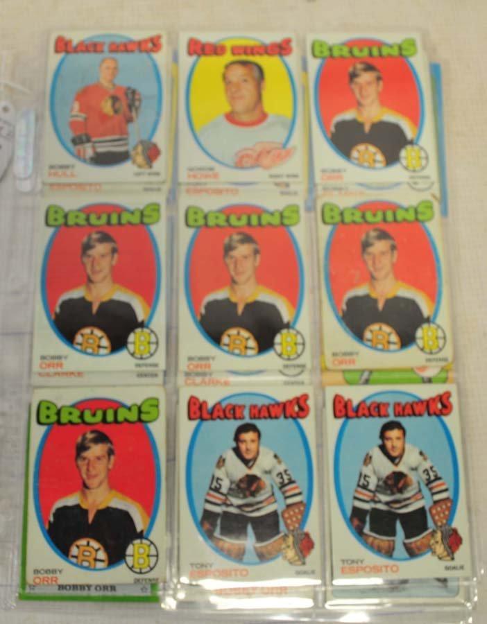 31 1970's Topps Hockey HOF Cards - 2