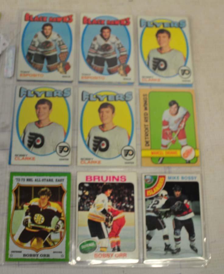 31 1970's Topps Hockey HOF Cards - 3