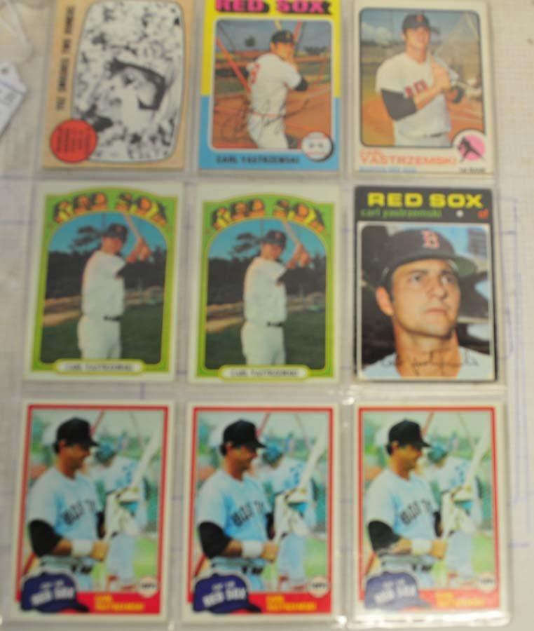 38 1960's and 70's Carl Yastrzemski Cards - 3
