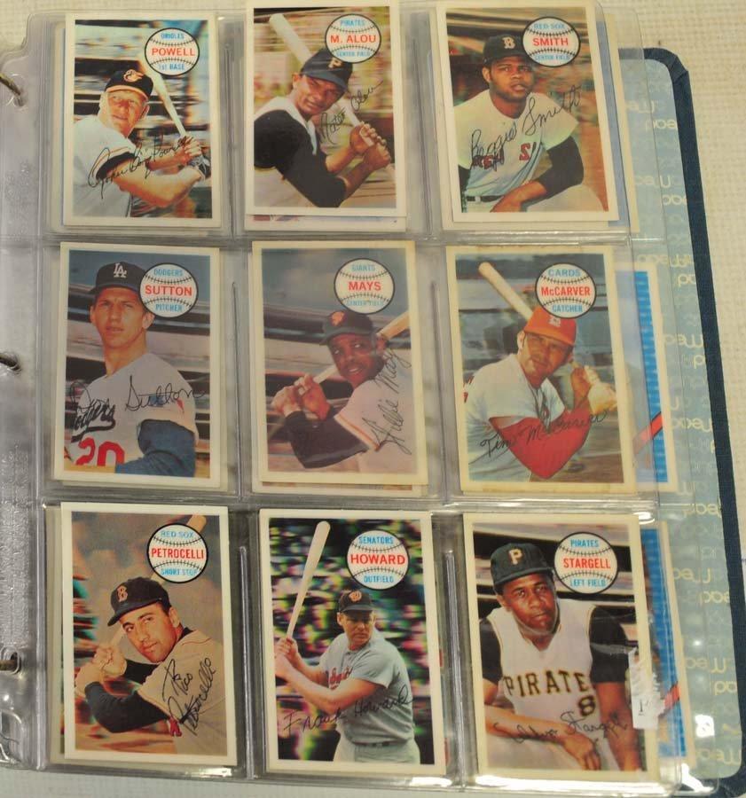 245 1970's/80's Baseball Cards